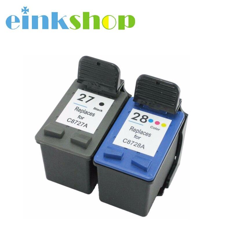 Einkshop Tintenpatrone Für HP 27 28 für HP DeskJet 3320 3323 3325...