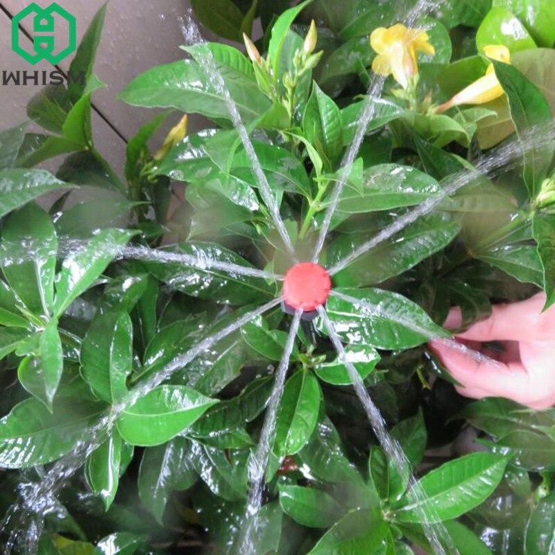 Focoso Whism 50 Pz Regolabile Ugello Di Irrigazione A Goccia Micro Annaffiatoio Di Plastica Sprinkler Pianta Emettitore Gocciolatori Strumenti Di Irrigazione Da Giardino Superiore (In) Qualità