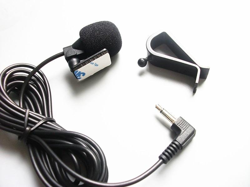 Linhuipad berwayar Mikrofon Kereta Luar untuk Pemain DVD Kereta GPS - Audio dan video mudah alih - Foto 5