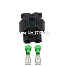 10 sets 2pin jacket car waterproof connector with terminal DJ7022Y-8-21