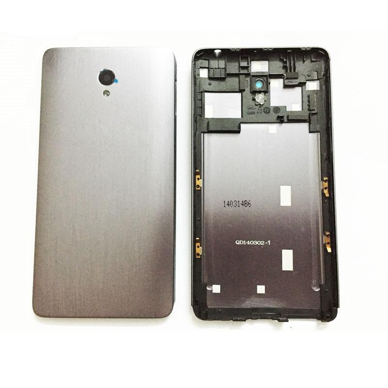 Original New Back Rear Battery Cover For Lenovo S860 Door Housing With Back Camera Glass Lens