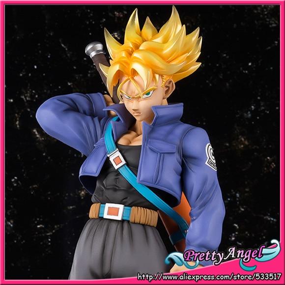 Original Bandai Figuarts Zero EX Dragon Ball Z Action Figure - Super Saiyan Trunks action ex