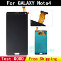 Replacement 100% Original display for Samsung Note 4 LCD display touch screen Digitizer black color for galaxy N9100 N910a
