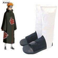 Naruto Cosplay Scarpe Akatsuki Nanja Cos Scarpe Degli Uomini Delle Donne Cosplay Costume Di Halloween di Natale Del Partito Sandali Stivali degli uomini delle donne per bambini