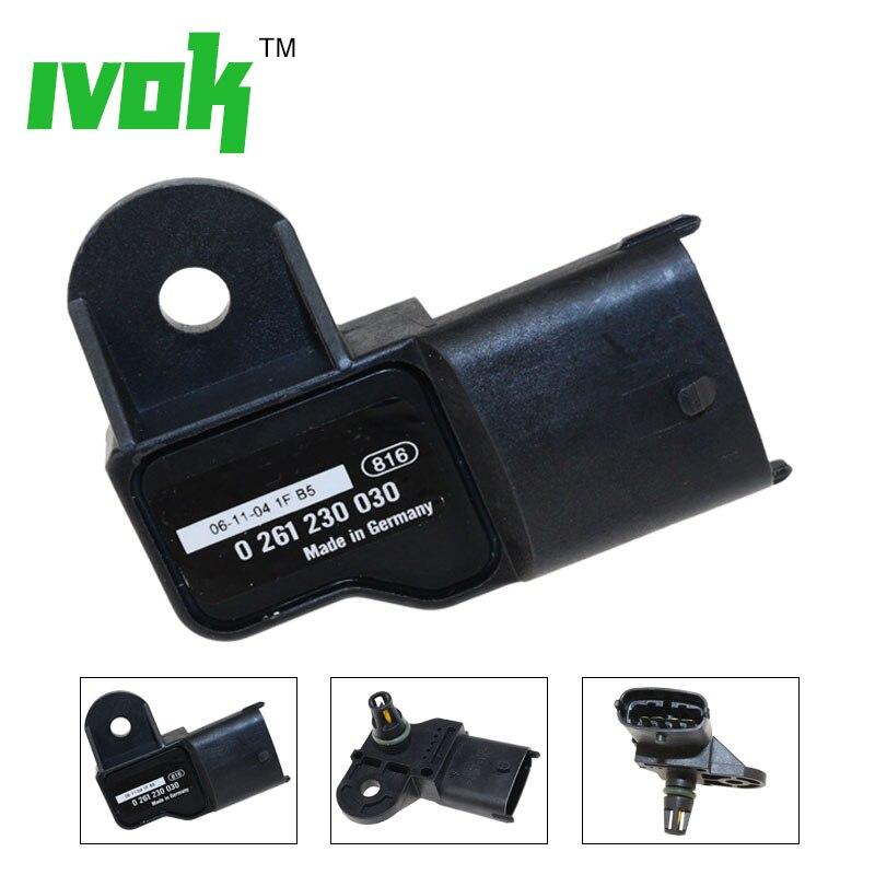0261230030 0261230174 1BAR Manifold Absolute Boost Pressure MAP Sensor FOR FIAT 500 STILO BRAVA PUNTO DOBLO IDEA LANCIA MUSA