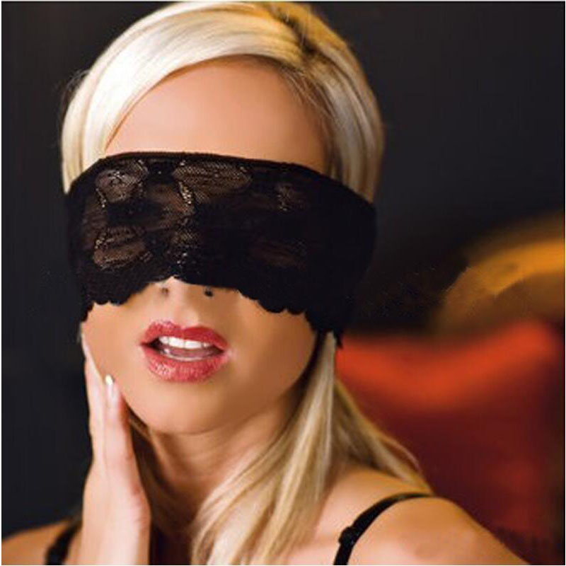 New Party Game Party Sexy Lace <font><b>Eye</b></font> <font><b>Mask</b></font> Patch Blindfold Adult Games Fetish Role-playing Flirt <font><b>Sex</b></font> Toy <font><b>Sex</b></font> Products For Couples image
