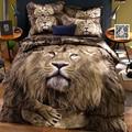 3D cartoon bedding cotton bed linen denim cotton spring three-dimensional four sets