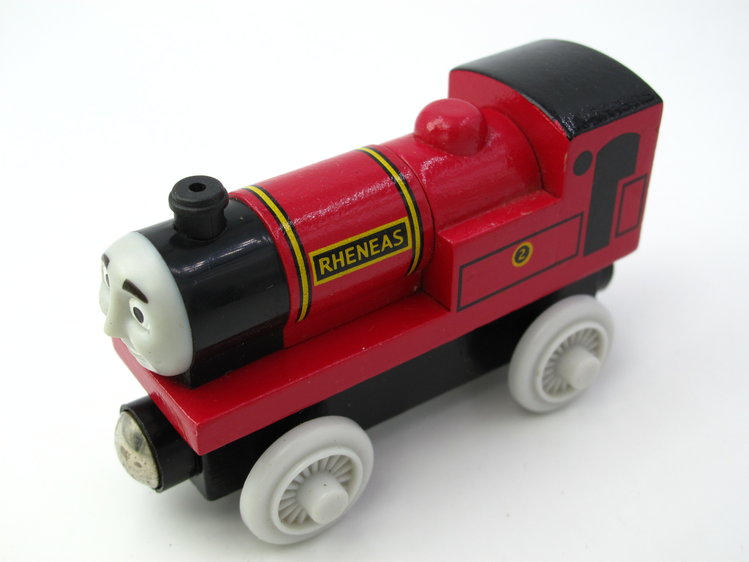 Wooden Thomas Train T109W RHENEAS Thomas And Friends Trackmaster Magnetic Tomas Truck Locomotive Engine Railway Toys for Boys