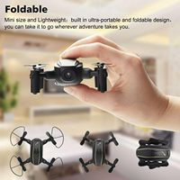 HD Camera Quadcopter with Wifi FPV 2.4G Folding RC Drone Altitude Hold Headless Mode RC Quadcopter Drone Profissional