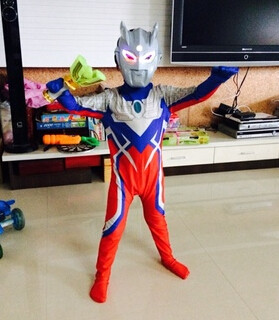 New Fantasia Child Baby Boy Halloween Costume Cosplay Lycra Jumpsuit Ultraman Costume With Ultraman Toys Gift & Online Shop New Fantasia Child Baby Boy Halloween Costume Cosplay ...