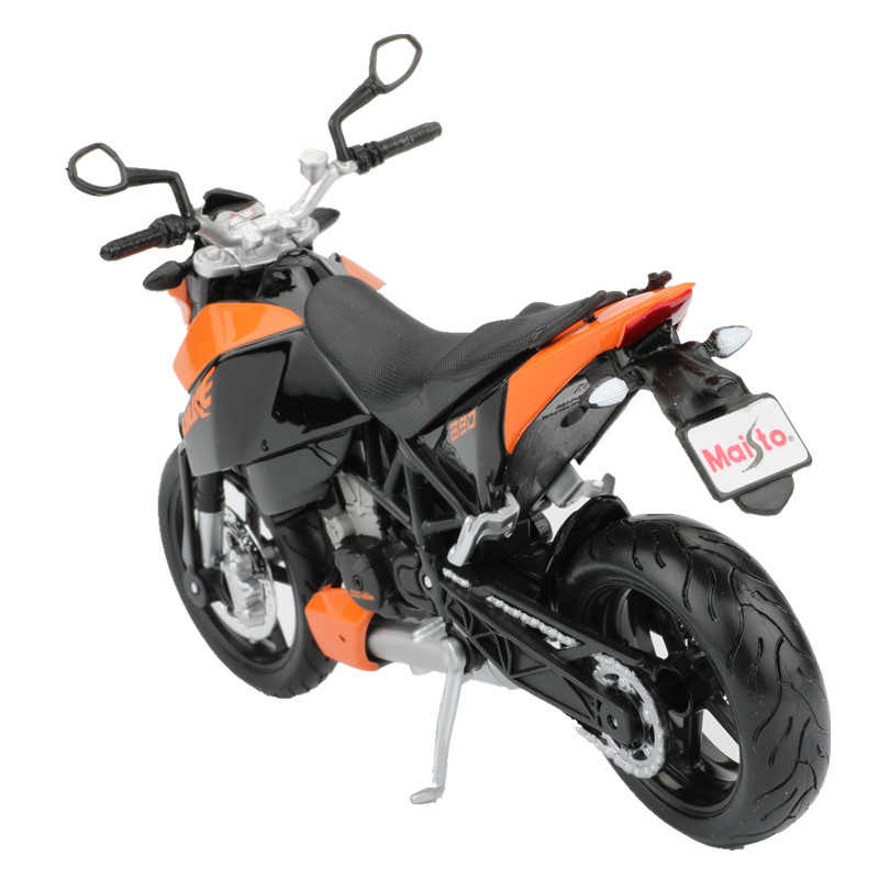 Maisto 1:12 Sepeda Motor Paduan Model Mainan 690 DUKE Sepeda Motor Koleksi Mainan Mobil untuk Anak Laki-laki Hadiah