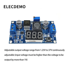Новый DC-DC регулируемый модуль питания LM2596 модуль регулятора напряжения с функцией отображения