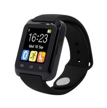 U80 bluetooth deporte reloj inteligente para iphone 4/4s/5/5s/6/6 samsung s4/note/s6 teléfono htc android smartwatch