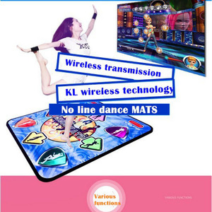 Image 5 - Fitness Dance Mat For TV Wireless Controller Game Pad English Menu TV PC for yoga and fitness Computer Flash Guide Single Dance