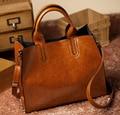 Genuine Leather Bags Handbags Women Famous Brands Big Casual Women Bags Trunk Tote Shoulder Bag Ladies large Bolsos Mujer