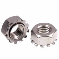 10Pcs 304 Stainless Steel K-nuts with Tooth Nuts K-nuts Multi-Tooth/Flower Tooth Nuts M3M4M5M6M8