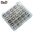 High Quality Sewing Bobbins 25pcs Metal Bobbins For Brother Janome Singer Domestic Sewing Machine