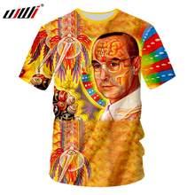 ce12c206b8 UJWI Psychedelic Lsd Tshirt Men Funny 3D Digital Print T Shirts Drug  Culture Unisex T-shirt Male Short Sleeve Casual Tees