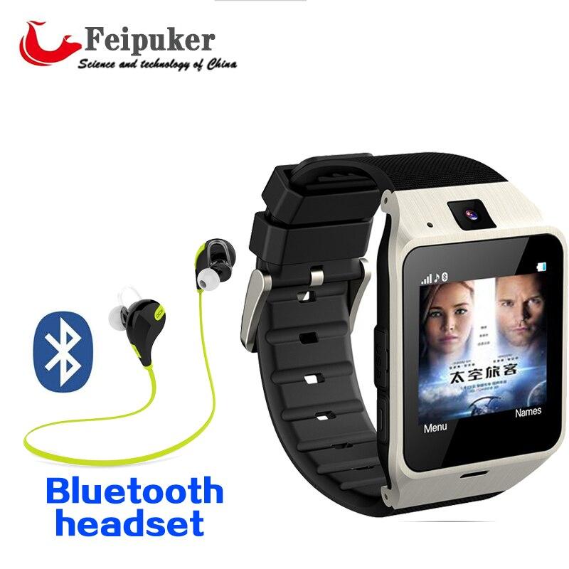 2016 NEW Feipuker Smart watch GV18 phone GSM NFC Camera wrist Watch SIM card Smartwatch for