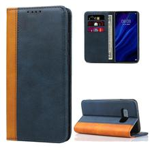 Luxury Color Leather Wallet Case Book Design with Magnetic Closure Flip Cover for Samsung Galaxy S10 S9 Plus Note 9 S10 Lite S8 trendy women s satchel with magnetic closure and black color design