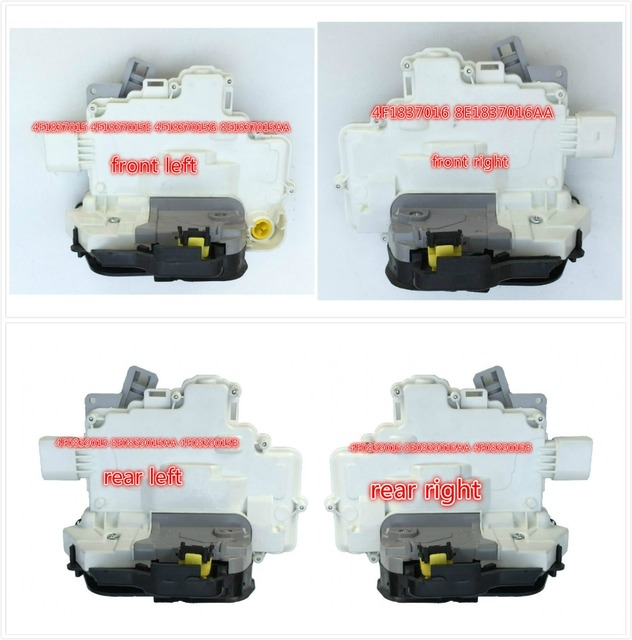 Fast Shipping Door Lock Actuator Latch Central Mechanism for Audi A3 A6 C6 Allroad A8 for Seat Exeo 4F1837015E/G 8E1837015AA