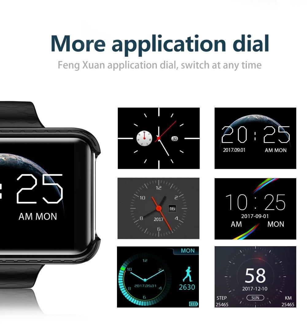 LEMADO Smart Watch I5S Watch Phone Support SIM Card Driving Recorder Pedometer Bluetooth Smartwatch Men Wristwatch PK LEM4 DM9813
