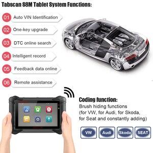 Image 4 - EUCLEIA S8M OBD2 Professionelle Full System Automotive Scanner ABS EPB Immo PK MS906 MS908 X431 V X431 Pro OBDII Diagnose werkzeug