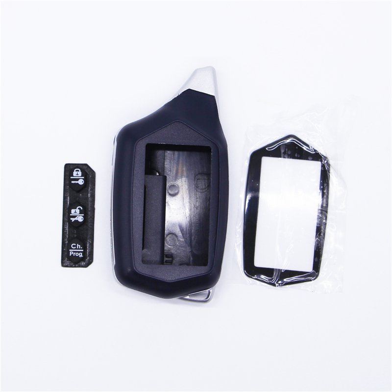 Russian Version C9 Case Keychain For Starline C4 C6 Lcd Two Way Car Remote Free Shipping
