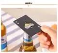100 pz Nero Apri Bottiglia di Birra Poker Carta Da Gioco Asso di Picche Attrezzo della Barra Soda Cap Opener Regalo Gadget Da Cucina strumenti