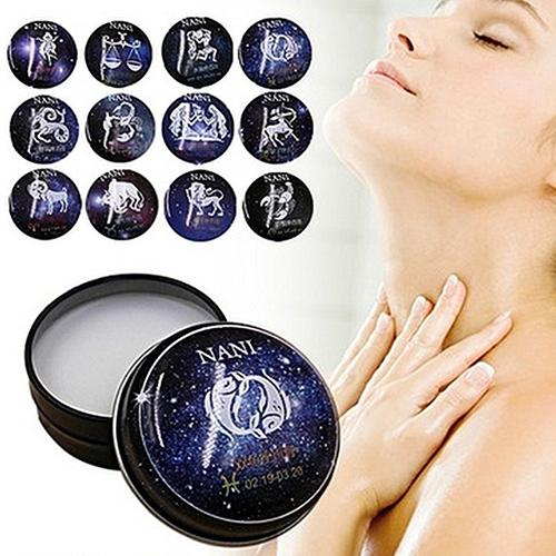 Fashion Cosmetic 12 Constellation Sexy Elegant Delicate Fragrance Solid Perfume Fragrances & Deodorants Skin Care Essential Oil