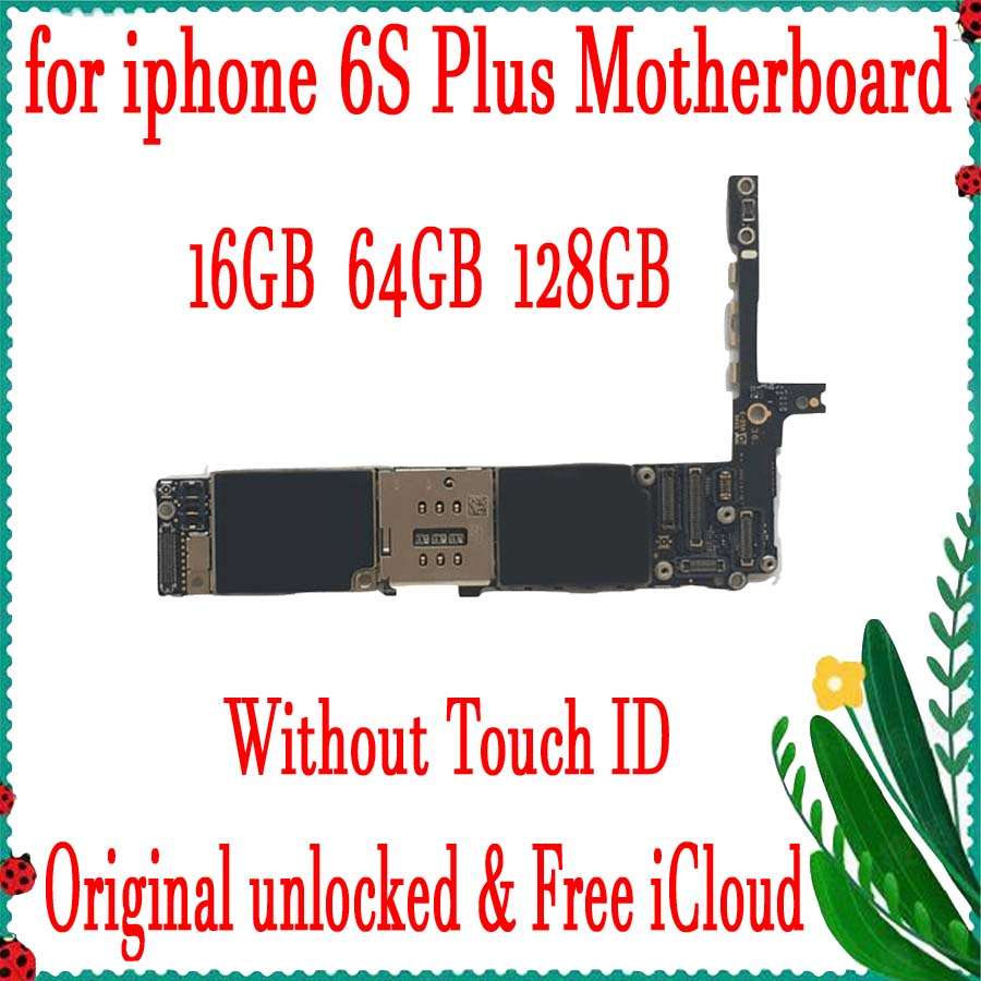 Factory unlocked for iphone 6S Plus Motherboard without Touch ID,100% Original for iphone 6S Plus Circuit board with Full ChipsFactory unlocked for iphone 6S Plus Motherboard without Touch ID,100% Original for iphone 6S Plus Circuit board with Full Chips