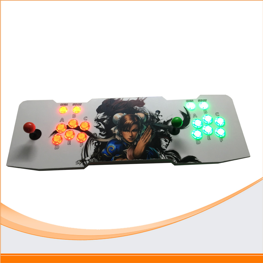 815 games Double game console/ Pandora arcade Box 4S board machine/ joystick game controller/ VGA/HDMI output arcade joystick gamepad kit 800 games in 1 video tv jamma 2 joystick vga hidmi metal double stick arcade console with 2players
