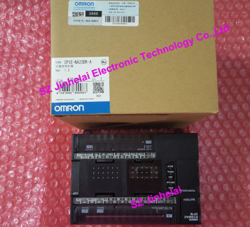100% New and original  CP1E-NA20DR-A  OMRON PLC CONTROLLER new and original e3x da11 s omron optical fiber amplifier photoelectric switch 12 24vdc