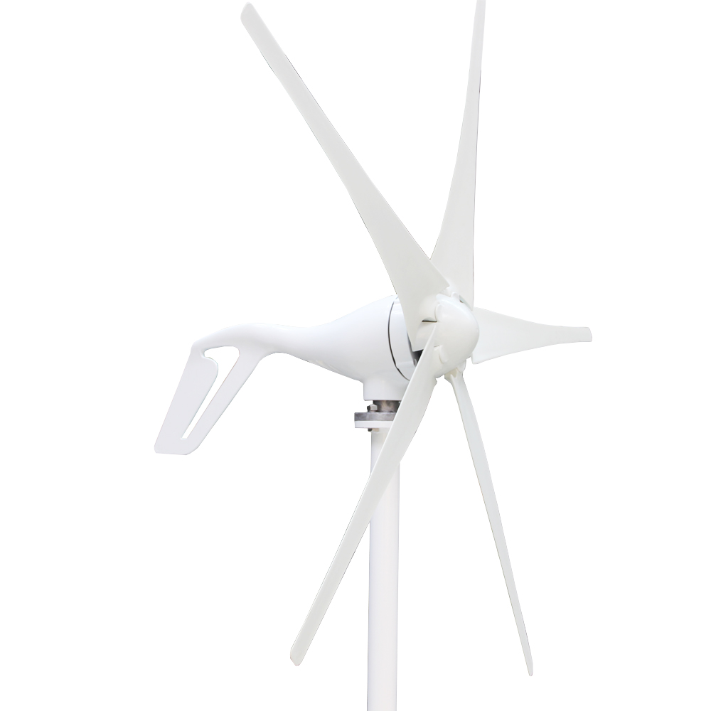 все цены на 100W 200W 300W 400W  S2 12/24V 3 blades or 5 blades Wind Generator with wind controller for wind system онлайн