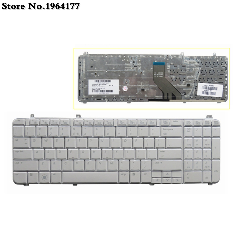 US Laptop Keyboard FOR HP Dv6-1005tx DV6-1330TX DV6Z DV6-2016TX  DV6-1331 DV6T Keyboard Black New English Layout