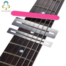 Guitar Fret Repairing Tool Set Fretboard Guard Protector Fretwire File Sanding Cleaning Polish Luthier Tool Accessories GYH(China)