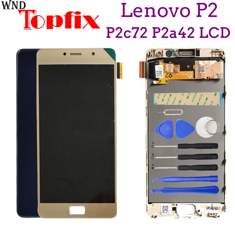 100% New Tested For 5.5 Lenovo P2 LCD Display Touch Screen Digitizer Assembly With Frame For Lenovo Vibe P2 P2c72 P2a42 LCD100% New Tested For 5.5 Lenovo P2 LCD Display Touch Screen Digitizer Assembly With Frame For Lenovo Vibe P2 P2c72 P2a42 LCD