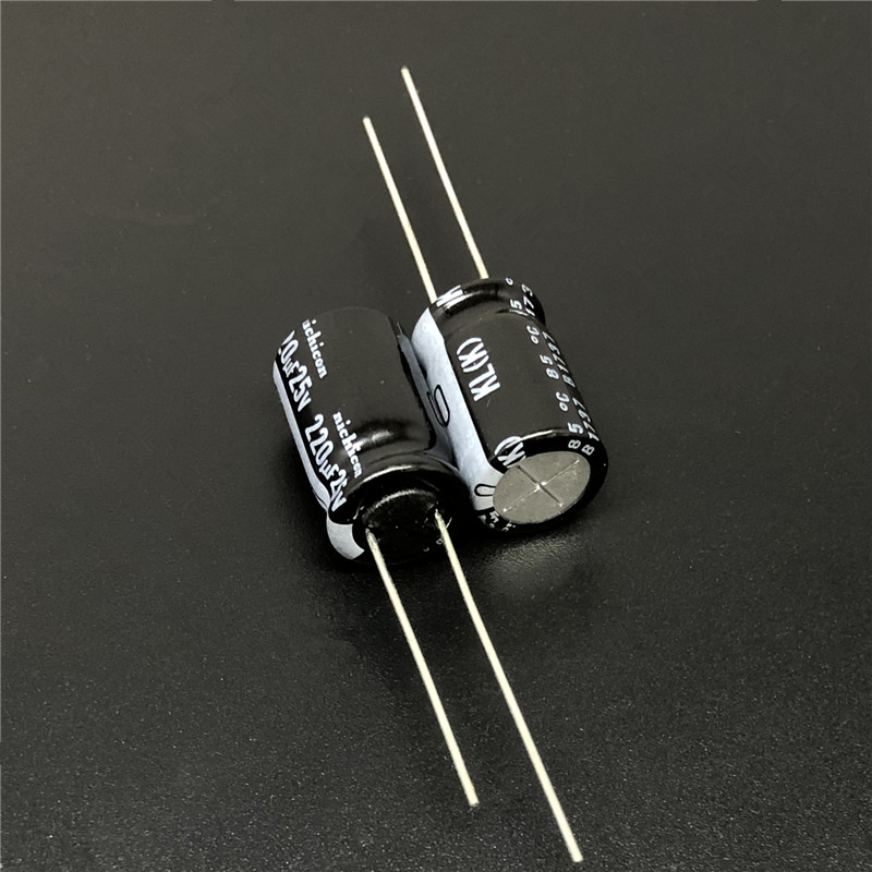 20pcs 470uF 16V NICHICON KL 10x20mm 16V470uF Low Leakage Current Aluminum Electrolytic Capacitor
