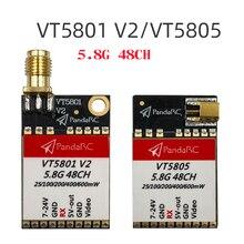 PandaRC VT5801 V2 VT5805 VT5804 FPV Video Transmitter 5.8G 48CH 25/100/200/400/6