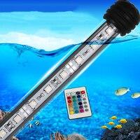 Aquarium Light Super Bright Fish Tank Waterproof LED Strip light Colored lights with Remote Color US/AU /EU/UK Plug MF 27U