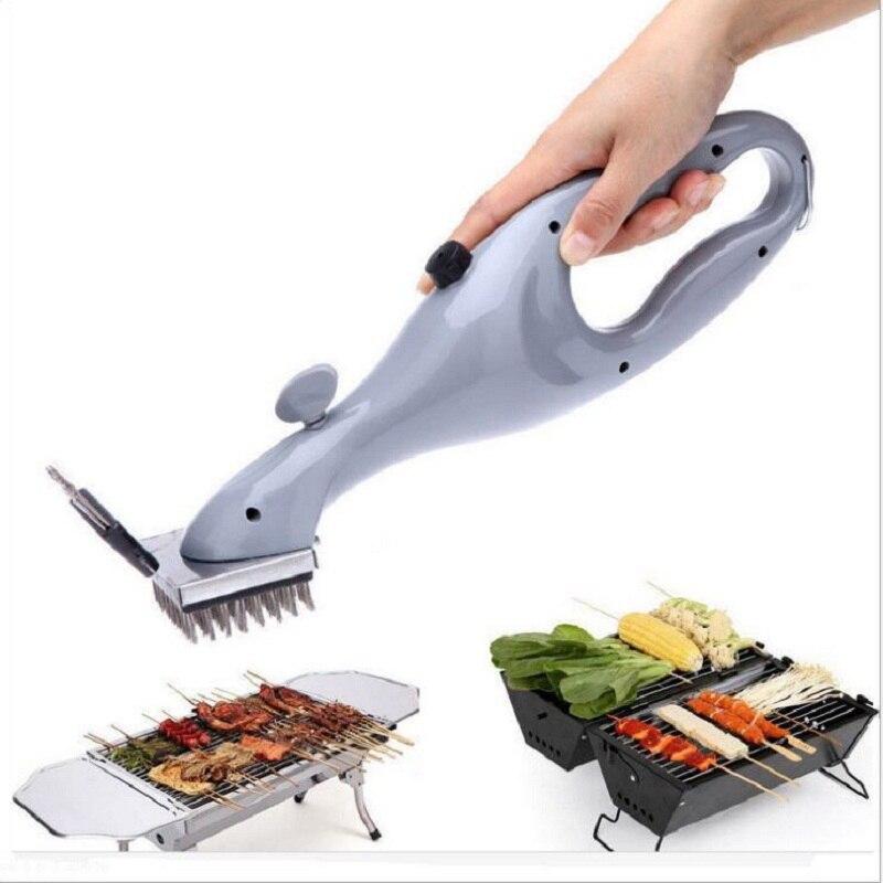 Grill Edelstahl BBQ Reinigung Pinsel Churrasco Outdoor Grill Reiniger mit Dampf Power bbq Zubehör Kochen Werkzeuge
