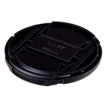 NEW ARRIVAL 50 PCS  77mm Snap-on Front Lens Cap Cover for Camera Sigma Lens free shipping