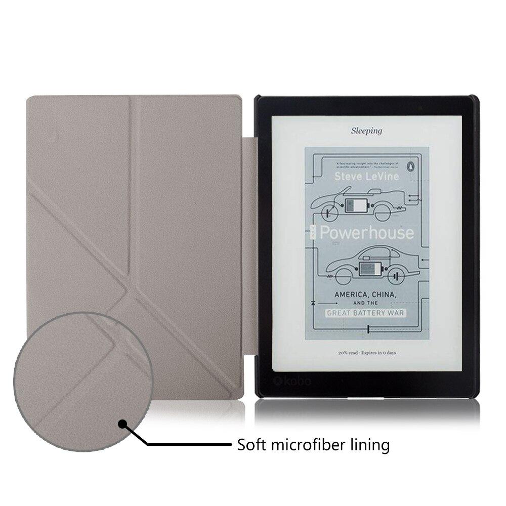 71896637b298d De pé caso capa para ebook reader Kobo Aura Um 7.8 polegada magnetic wake auto  sono + Protetor de Tela + caneta Stylus como presentes em Caso Tablets ...