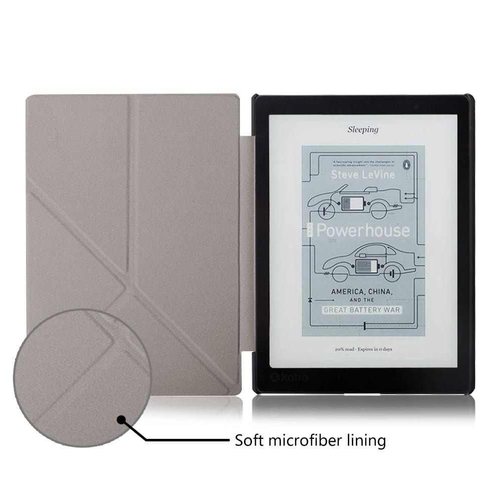 Standing cover case untuk Kobo Aura One 7.8 inch ebook reader - Aksesori tablet - Foto 3
