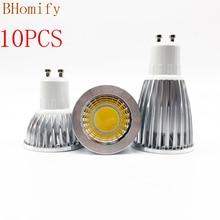Super Bright GU10 E27 GU5.3 Bulbs Light Dimmable Led Warm/White 85-265V 6W 9W 12W GU10 COB LED lamp light GU10 led Spotlight luo gu10 12w 1000lm 6500k 24 x smd 5630 led white light bulb silver transparent 85 265v