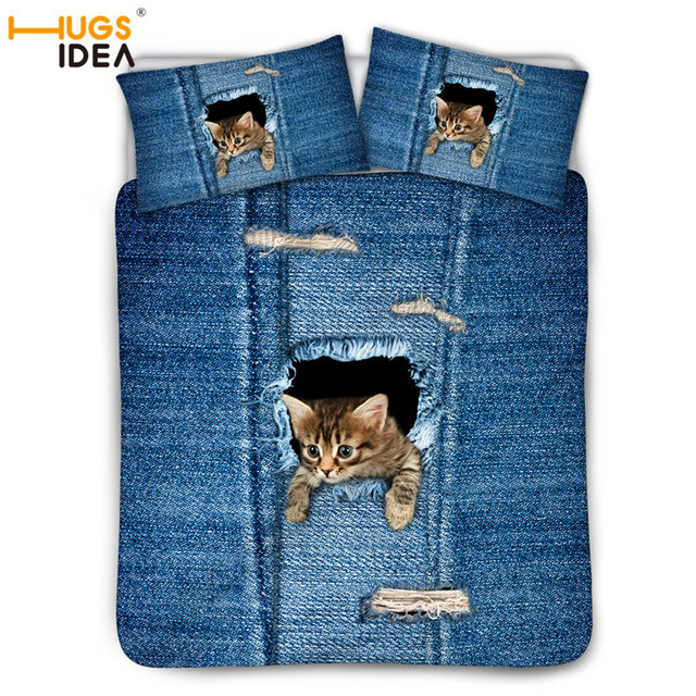 Denim Bedding Set