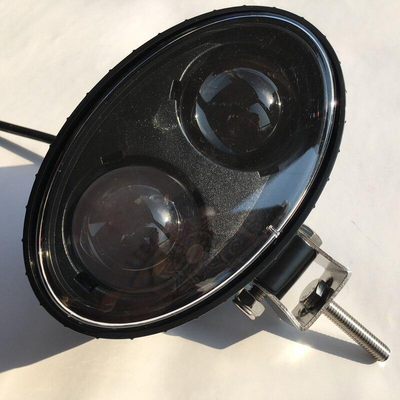 12v 80v Led Forklift Working Light Blue Spot Warning Light
