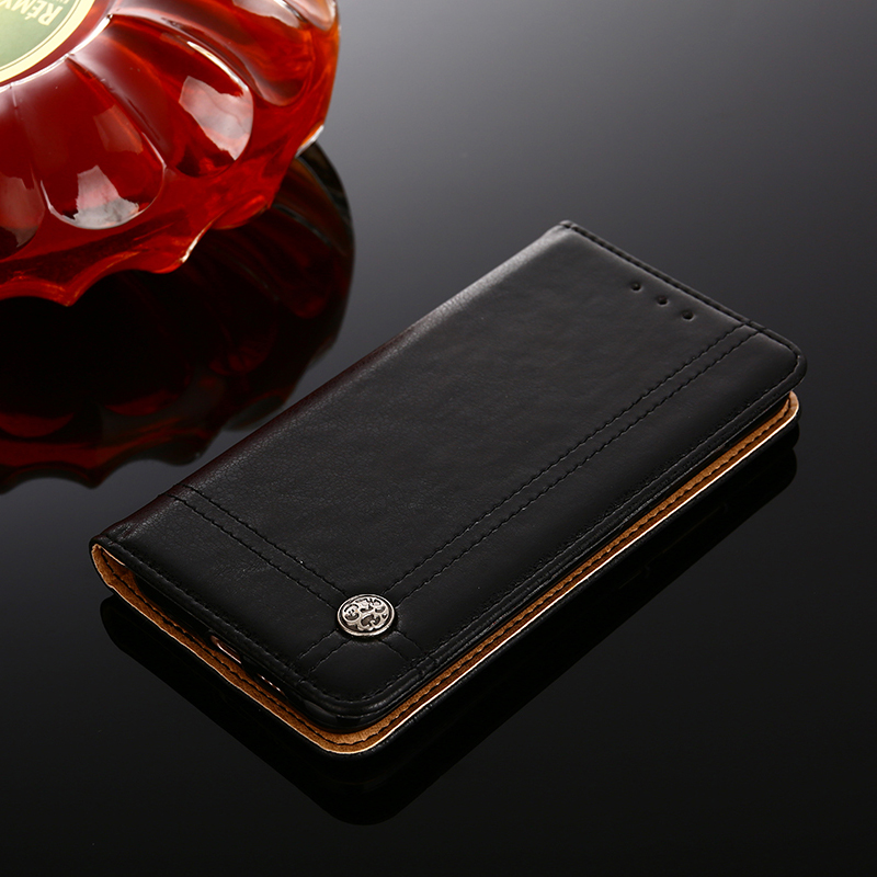 Flip Retro Leather Case For iPhone 6 6s Plus Luxury Card Holder Wallet Cover For iPhone 7 7 Plus 8 X Phone Bag Funda