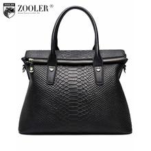 ZOOLER bags handbags women famous brands High end women leather bag fashion bolsas Serpentine grain purple