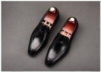 Летние Мужские модельные туфли из натуральной кожи на плоской подошве; мужские слипоны наивысшего качества; Лоферы ручной работы в деловом